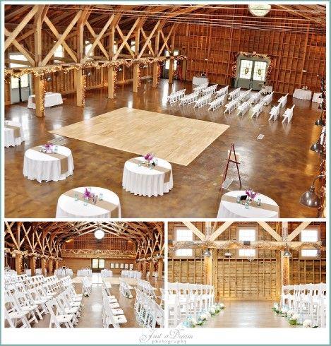 The Fair Barn Pinehurst Nc Ceremony Reception Floor