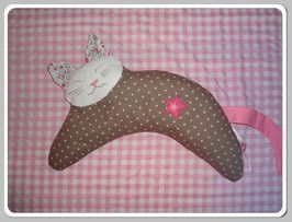 Giusi made this Kitty Cat Heat bag!  Doesn't it look fantastic - I love the little star she added.  You can buy this already made up directly from her shop too!   http://www.handmade-cuties.de/shop/baby-kind/kirschkernkissen/ The pattern is also available from my Etsy store: https://www.etsy.com/au/shop/JodysCraftyCreations