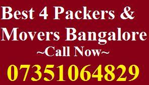 Packers Movers Basaveshwara Nagar | Bangalore Blog