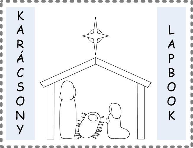 karácsonyi lapbook