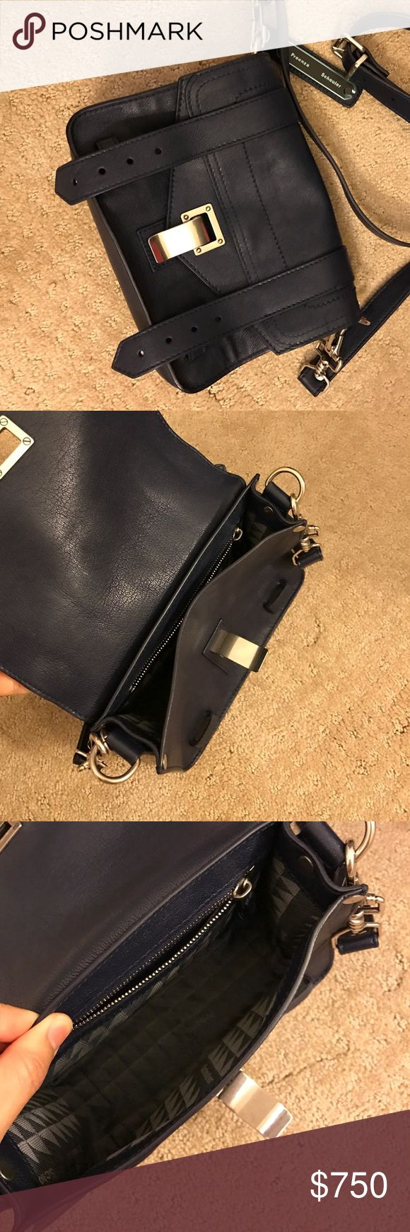Proenza Schouler mini PS1 crossbody 【new】 Brand new proenza schouler crossbody bag! The color is navy blue. No trades plz. Can do lower on 🅿️🅿️. Proenza Schouler Bags Crossbody Bags