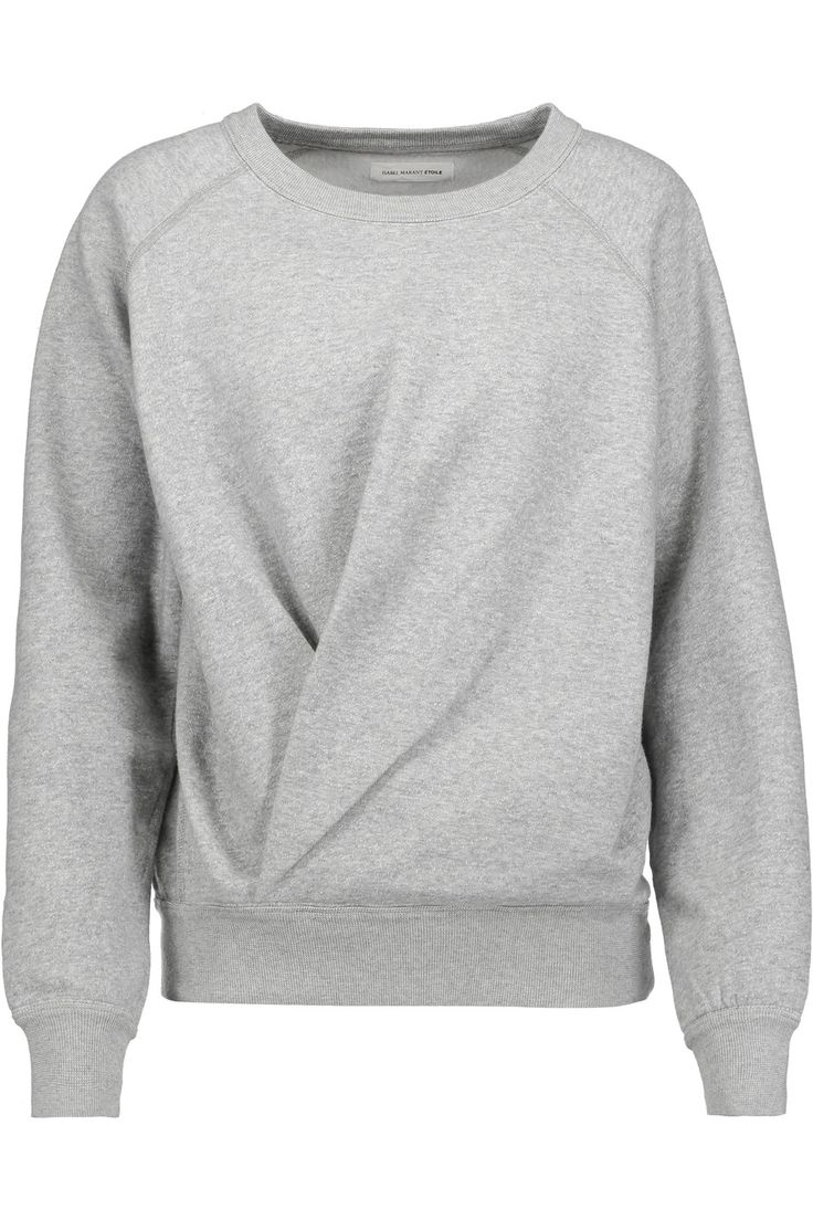 Shop on-sale Étoile Isabel Marant Belden marled cotton-blend jersey sweatshirt. Browse other discount designer Tops & more on The Most Fashionable Fashion Outlet, THE OUTNET.COM