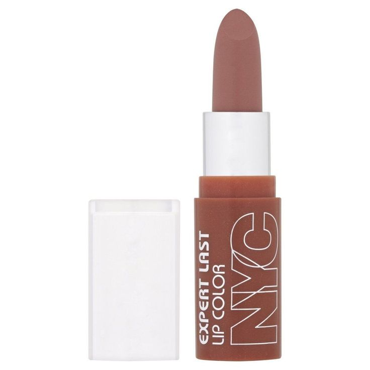 As close to a pink / grey tone as I can go without looking like a corpse! NYC EXPERT LAST MINI LIPSTICK 440 Creamy Caramel