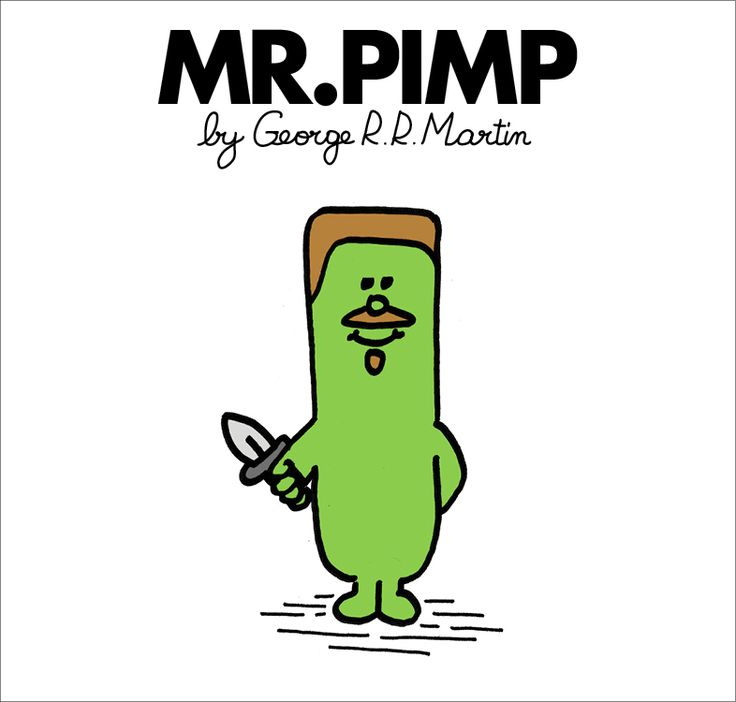Peytr Baelish | Game of Thrones | Mr. Men