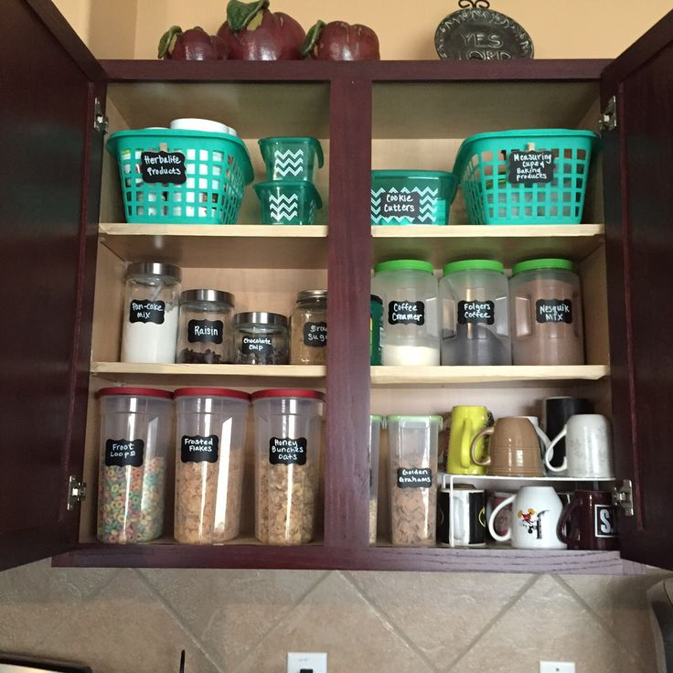 Kitchen Cabinet Organization Ideas: Ideas To Organize Your Kitchen Cabinet All From The Dollar