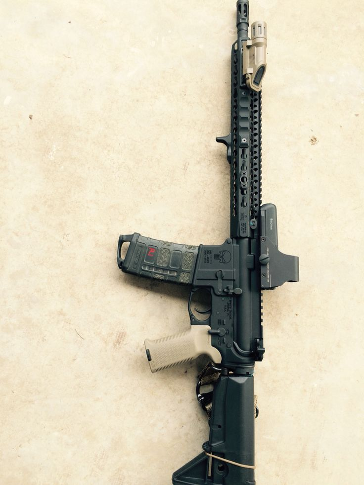 Bcm upper,spikes lower. Rail scales, HSP.