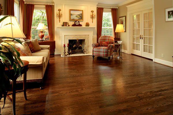 Paradise! Two narrow oak strip flooring