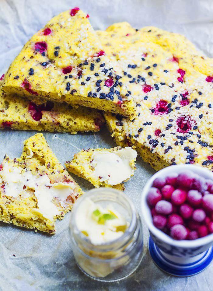 Saftigt majsbröd á la Fredrik – utan ägg, gluten, socker, mjölk och nötter