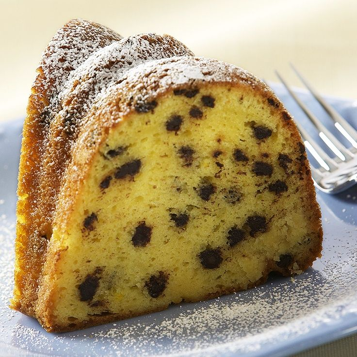 Chocolate Chip Pound Cake Using Yellow Cake Mix