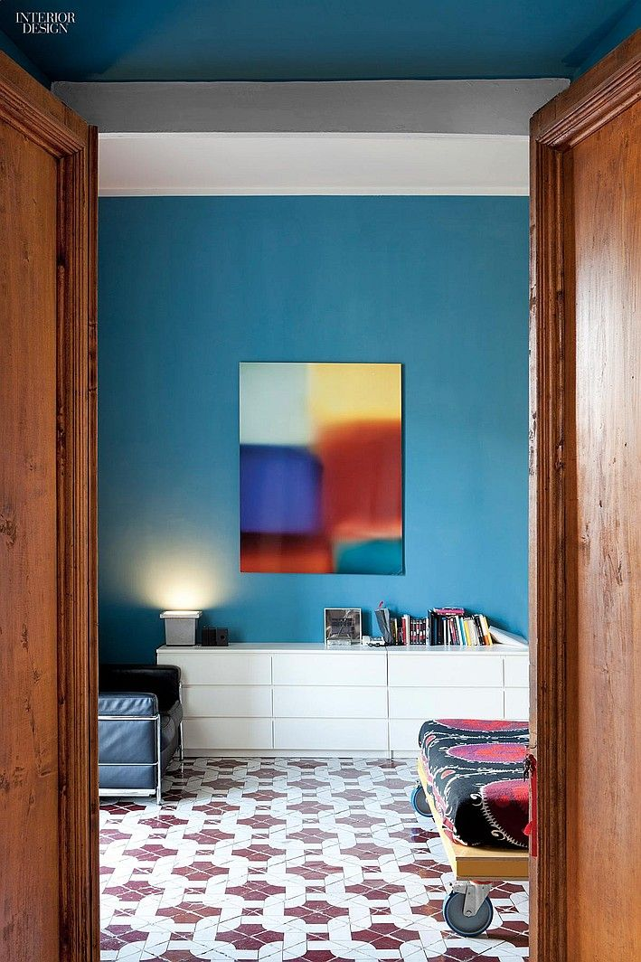 Time Travel Antonio Giuseppe Martiniello Lives And Works In Naples Colorful RoomsNaples ItalyInterior ColorsHospitality DesignTime