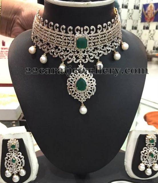 Jewellery Designs: Two Step Rich Collar Choker