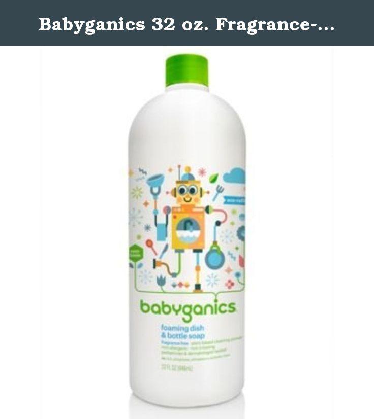 Babyganics Foaming Dish And Bottle Soap Travel Size