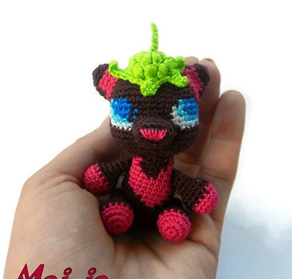 Collectible toys  Crochet Bear  Crochet animals  by MajjaCrochet