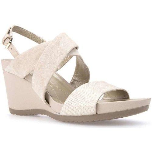 Sandals Geox D72P3A 021SK Wedge sandals Women Avorio 92.91 £