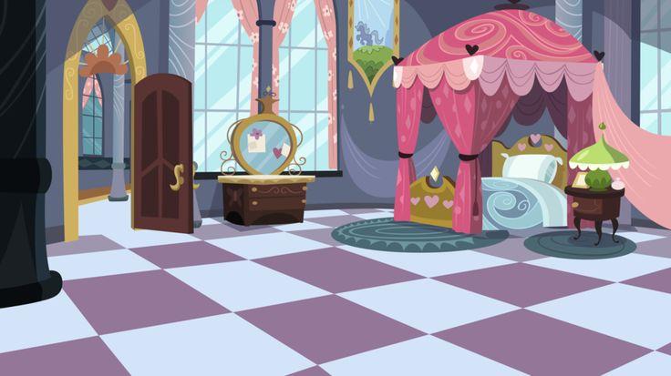 My Little Pony Cartoon Living Room