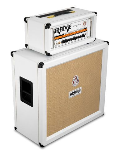 Gearjunkies.com: Orange Amps introduces Limited Edition White Amps