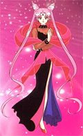 In what episode does Rini (Chibi Usa) transform into Wicked Lady (Black Lady)?