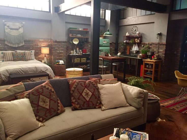 loft inspiration - grey's anatomy set, via @nicdecorator