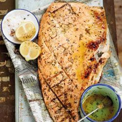 Trout fillets with dill butter. The perfect dinner party meal to satisfy guests.