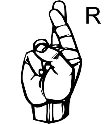 Best Sign Language Images On   Sign Language Letters