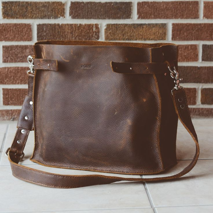 Kayla's Diaper Bag - Port Leather - Fine Leather Products