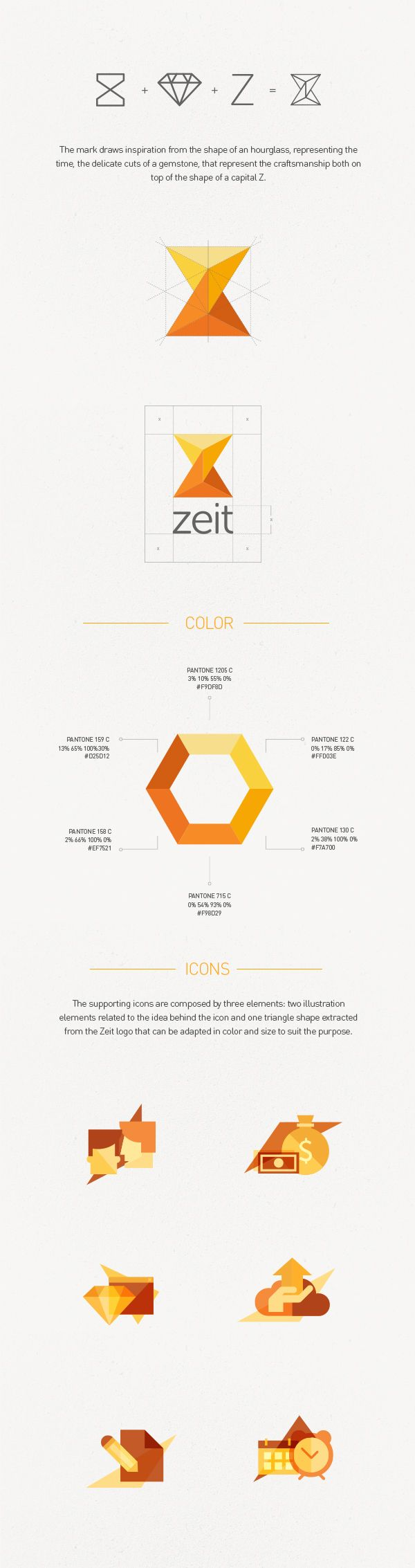 ZEIT | #corporate #branding #creative #logo #personalized #identity #design…