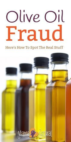 More than two-thirds of common brands of extra-virgin olive oil found in grocery stores aren't what they claim to be. Here's how to spot the real stuff. http://www.mamanatural.com/virgin-olive-oil-scam-fraud/