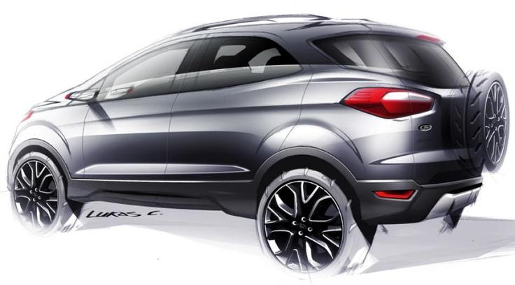 Baby SUV 2012 Ford Ecosport