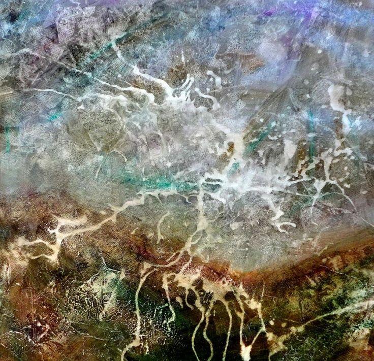 In kurzer Zeit entsteht mit Hilfe einfacher Techniken ein abstraktes Bild, dass auch im weitesten Sinne an eine Landschaft erinnert. Ich wünsche Euch viel Fr...