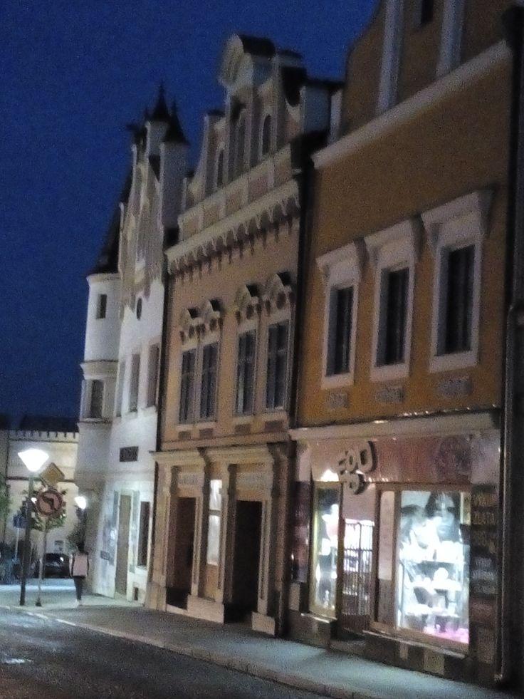 Horní ulice v Havlíčkově Brodě