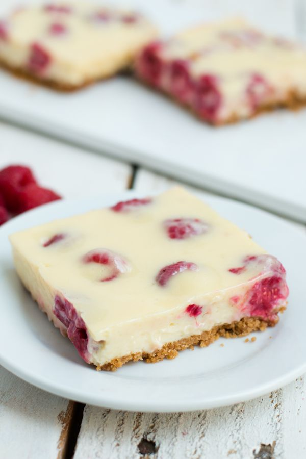 The best lemon raspberry bars ohsweetbasil.com
