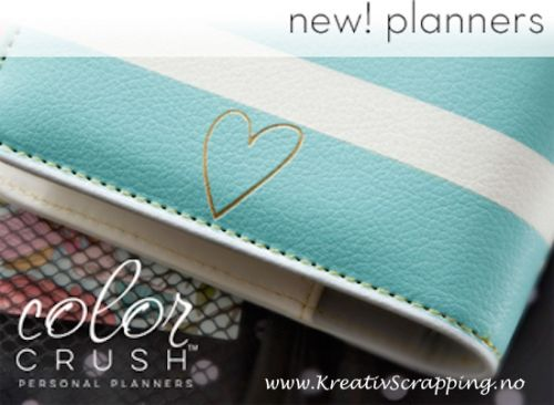 WEBSTERS PAGES - COLOR CRUSH PERSONAL PLANNER KIT- TEAL & WHITE STRIPE KALENDER-ALMANAKK-PLANNER KIT fra WEBSTERS PAGES med skilleark, kalenderark, klistremerker og binders. Klar til bruk.   Webster's Pages-Color Crush Personal Planner Kit.The perfect planner for filling in your everyday appointments, thoughts and more! Get creative! This package contains one A2 6-ring leather binder with inspiration tag, 2015 month and week on a 2 page calendar, one today page marker, five patterned…