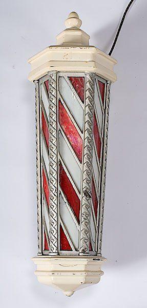 Koken Electric Barber Pole, : Lot 246