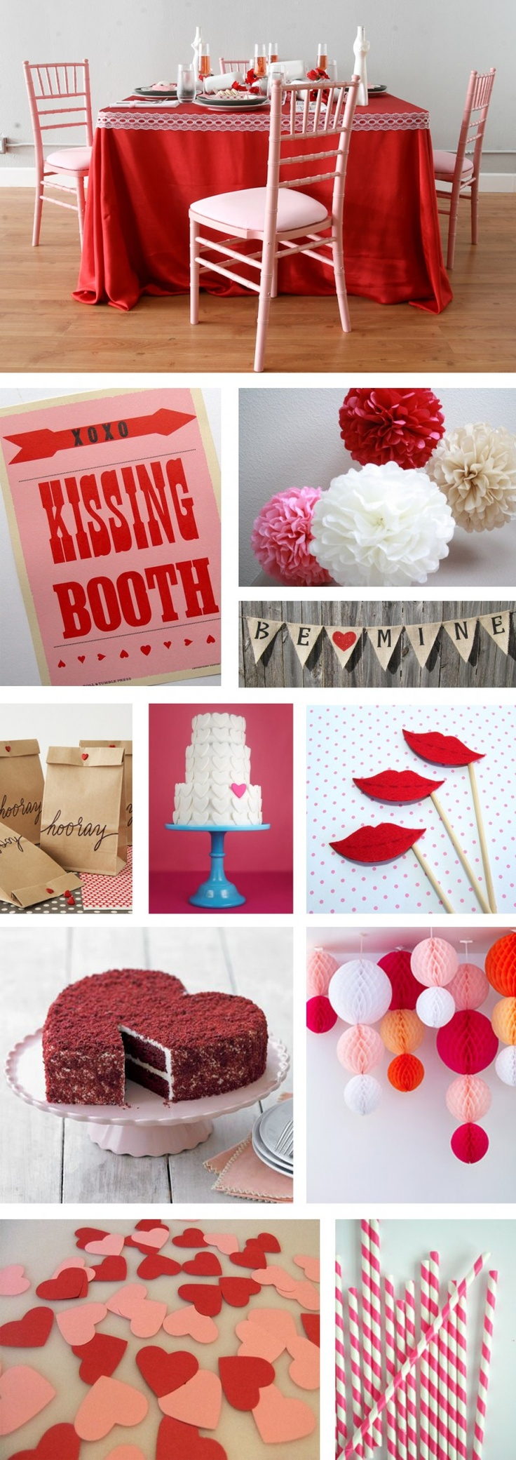 7 best valentines day theme party images on pinterest valentine party valentines day party. Black Bedroom Furniture Sets. Home Design Ideas