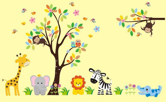 https://www.etsy.com/listing/268318608/girls-wall-decals-girls-animal-stickers?ref=shop_home_active_96 Hello and Welcome!!! We carry over 800 unique nursery wall decals for your child's nursery room theme.  If you were looking for specific themes, we specialize in Safari, Jungle, Forest, Farm and Ocean designs.  All of these decals are completely removable and reusable and are also made from a very HIGH QUALITY material.  (Made in the USA) https://www.etsy.com/shop/NurseryDecals4You $234.95