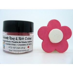 Chocolats Roxy & Rich Petal Dust - Charm Pink Golda's Kitchen
