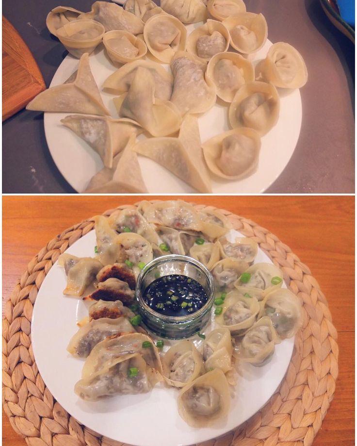 Modak/Kozhukkattai alternative - spicy mushroom dim sum. #MangiaBene #TalesFromNW #HomeMade