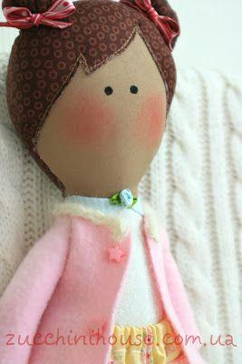 Игровая кукла для малышки и юбка для себя / doll for baby-girl and a skirt for myself | Домик маленького Цукиня