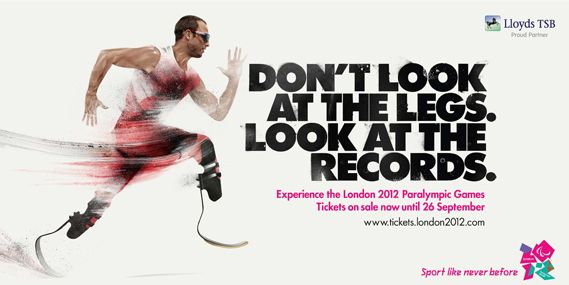 London 2012 Paralympic campaign by McCann Worldgroup with illustrations by HelloVon.