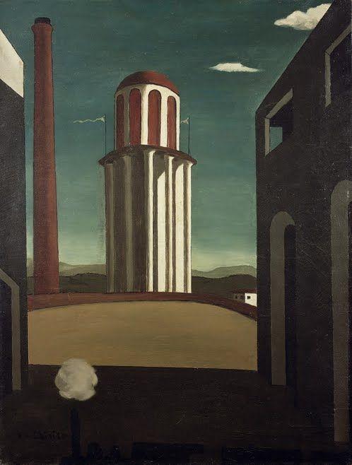 Giorgio de Chirico, The Return of the Poet, 1911 | Art of the Day | Magazine | Artfinder