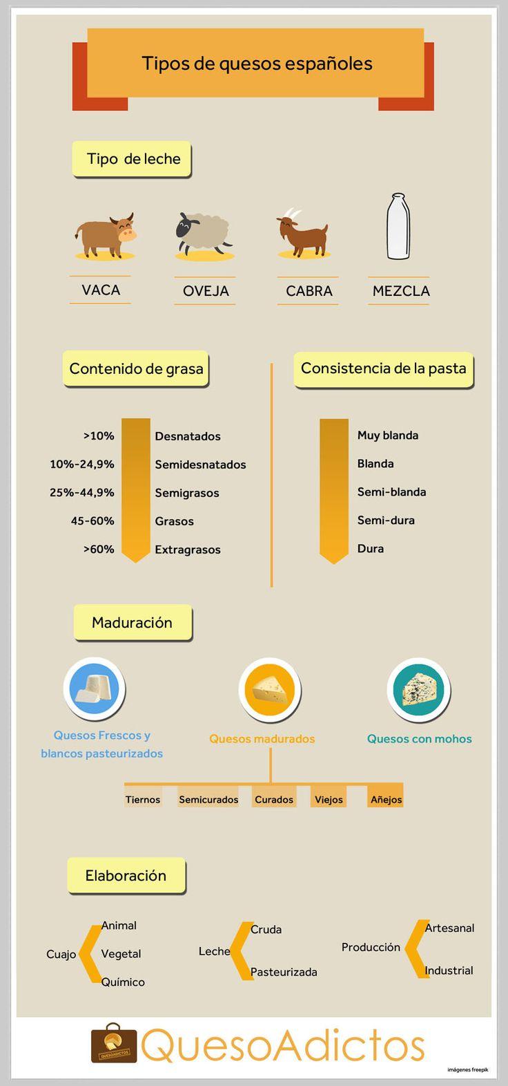 Tipos de quesos españoles que puedes encontrar