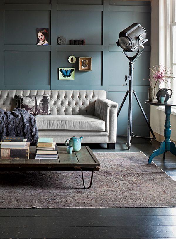 רעיון לקיר אחורי ספה. לא חייב בגוון