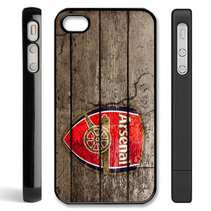arsenal sport - black for iphone 4/4s and iphone 5 case