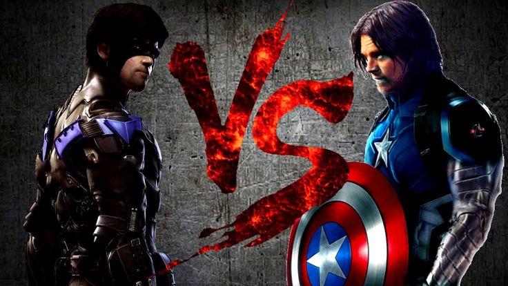 НАЙТВИНГ против БАКИ-КЭПА | NIGHTWING vs BUCKY-CAP [CT Fight Club | DC |...