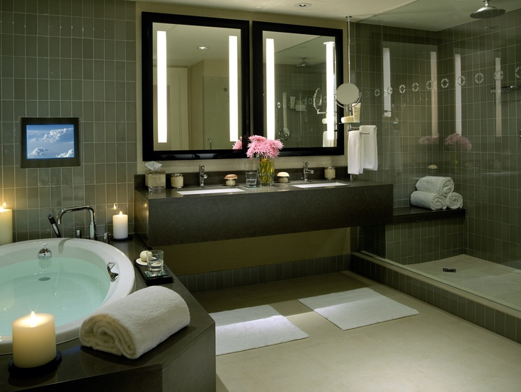 88 best images about jacuzzi suites and in room hot tubs. Black Bedroom Furniture Sets. Home Design Ideas