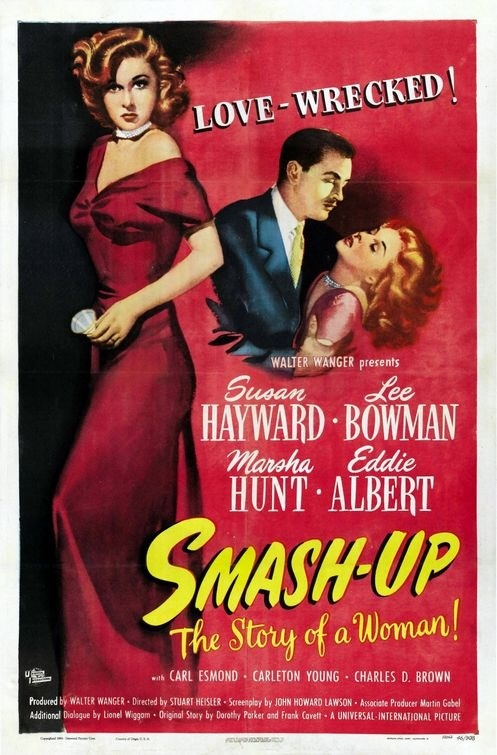 Smash-Up, the Story of a Woman 1947 Film impawards.com Smash-Up, the Story of a Woman, also called A Woman Destroyed, is a drama film which tells the story of a nightclub singer who marries a rising singer and falls into alcoholism when she gives up her own career.