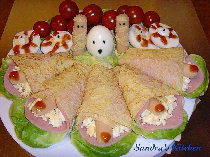 Creepy halloween food!