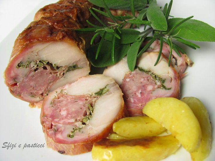 Sfizi e pasticci: Coniglio in porchetta