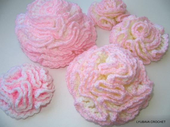 Modern Crochet Flower Pattern : 34 best images about Crochet - Carnations ! on Pinterest ...