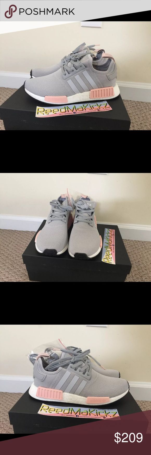 Adidas NMD R1 Light onix Vapour pink offspring 100% authentic!!! brand new womens sizes style code BY3058 adidas Shoes Sneakers